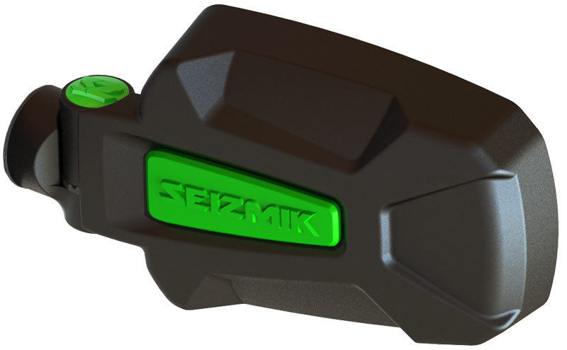 Seizmik Green Pursuit Elite Hd Side View Mirror Kawasaki
