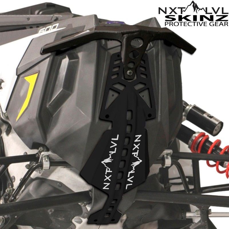 Red /& Black Skinz NXT LVL Front Bumper Polaris 2010-2016 Pro RMK Rush