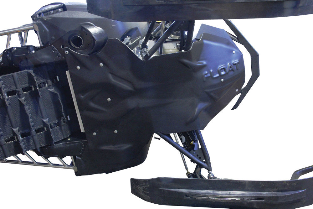 Skinz Snowmobile Float Plate Black For 2012-2019 Arctic Cat Pro Cross F