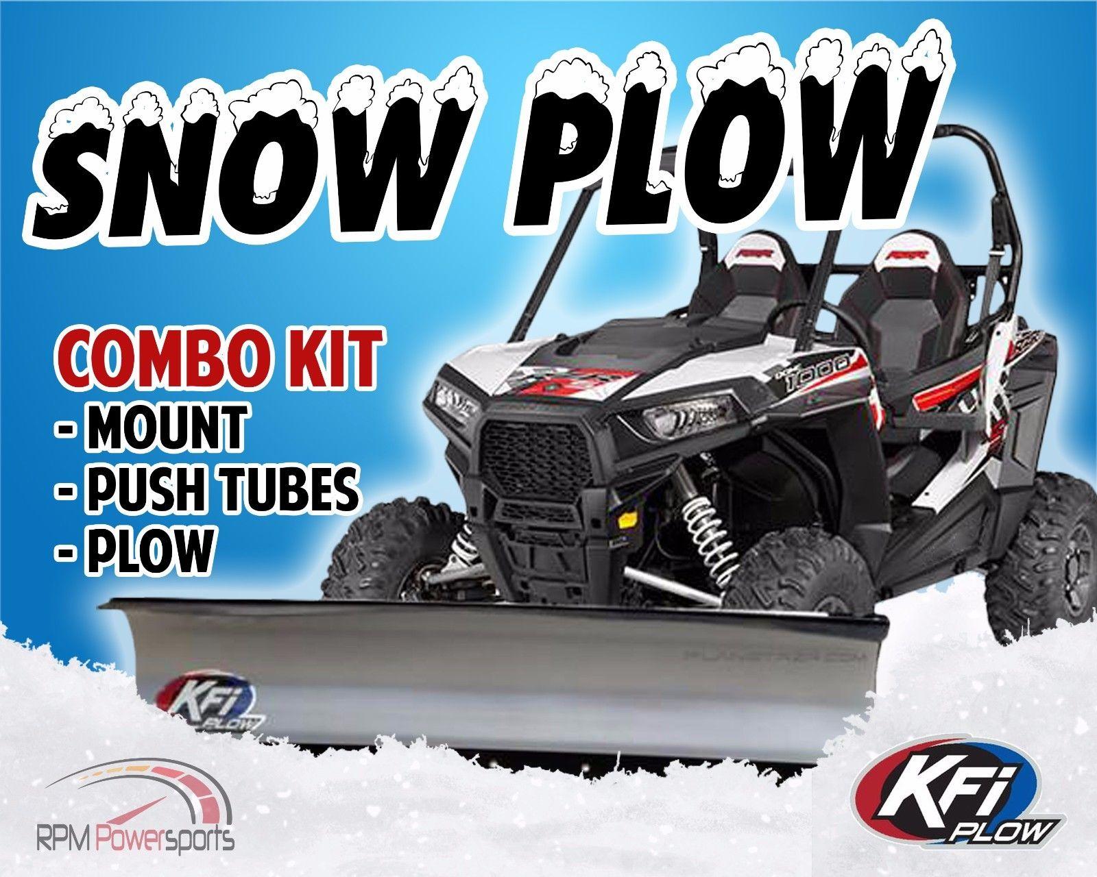 Crew 2011 2012 2013 KFI WIDE Winch Mount Kit  Polaris 500 Ranger Midsize 4x4