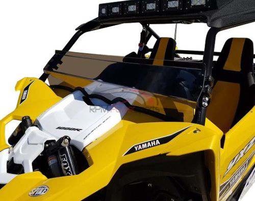 Spike 77-1400-R-T tinted rear windshield Panel for 2016-2018 Yamaha YXZ1000R