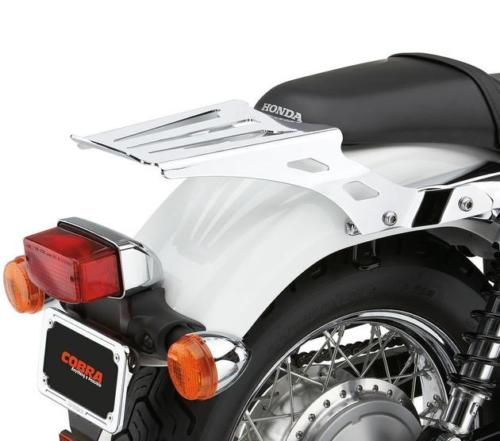 Cobra Solo Luggage Rack Formed Chrome Fits Honda Vt750rs