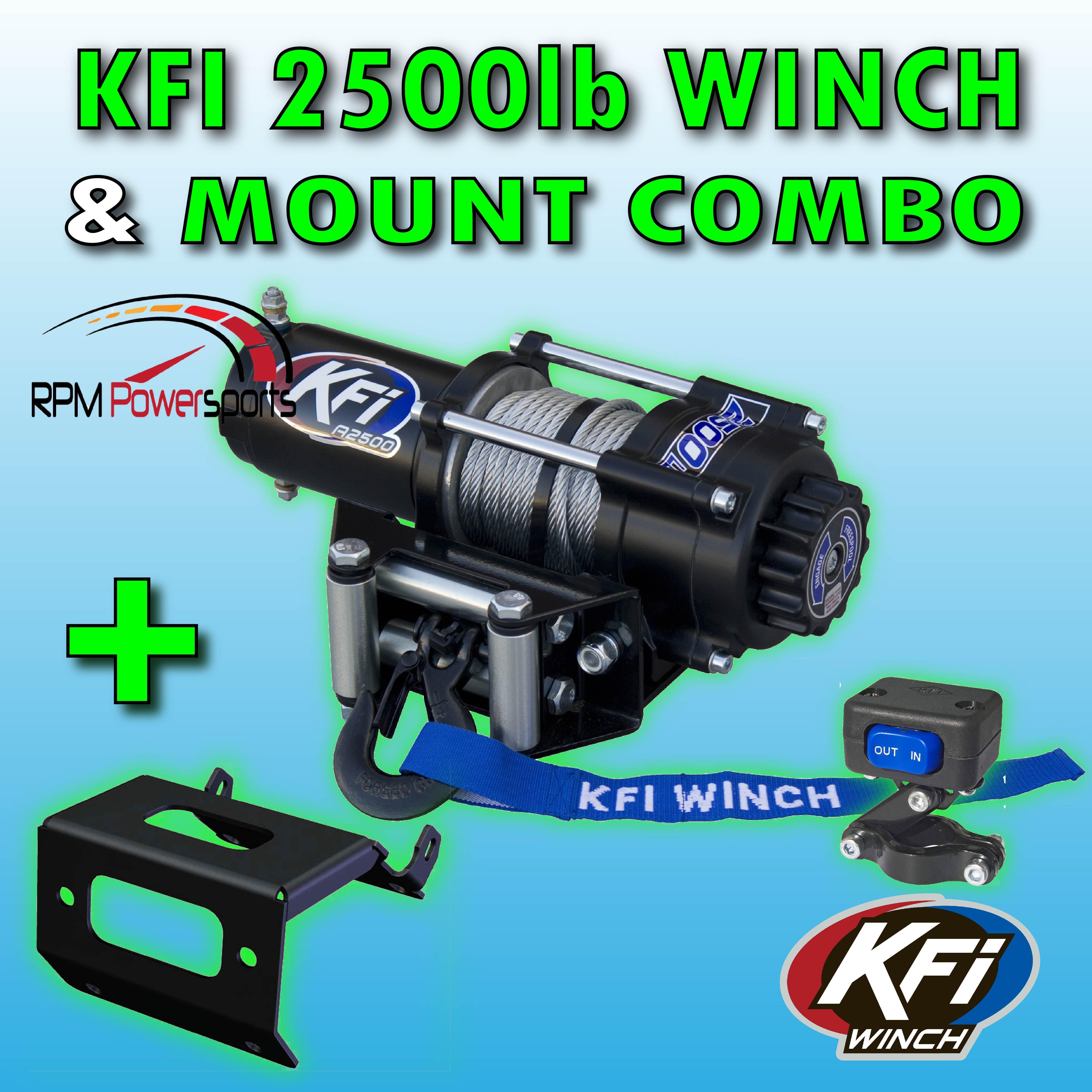 KFI 101340 Winch Plow Mount KFI Products