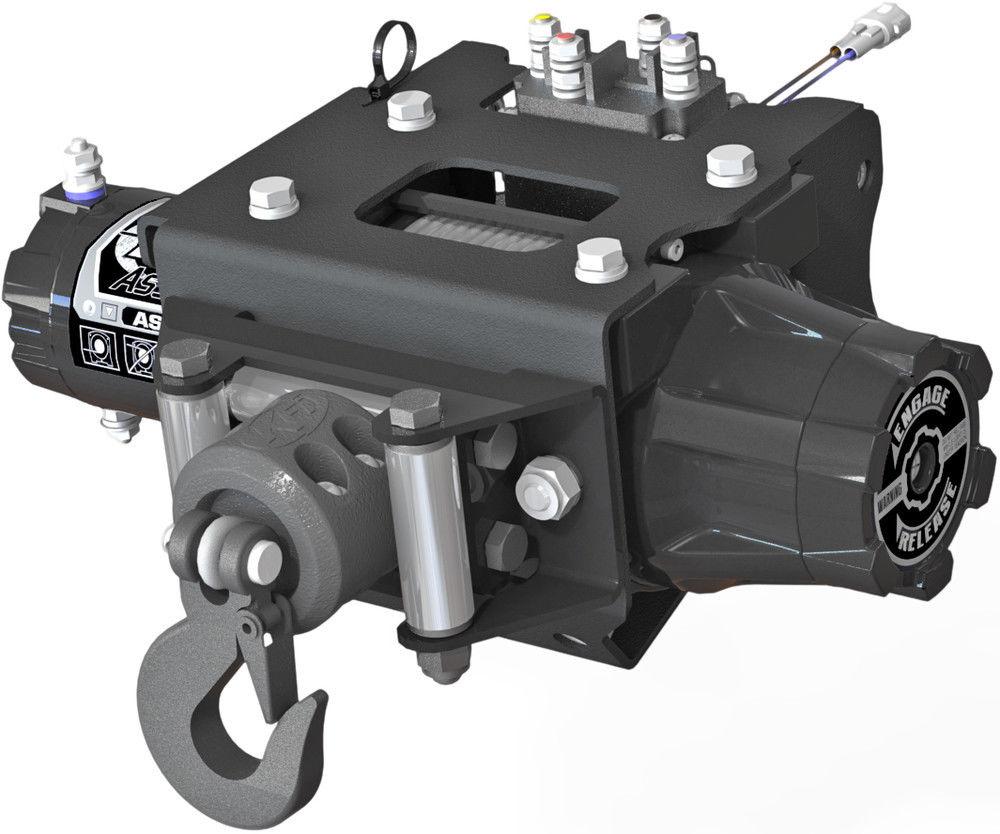 Kfi 3000Lb Winch Set And Mounting Kit To Fit Polaris Sportsman 570 14-18